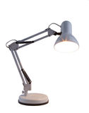 Table lamp. A table lamp on a white background Royalty Free Stock Photos