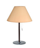 Table lamp on white Royalty Free Stock Image