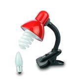 Table-lampe Images libres de droits