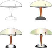 Table Lamps Stock Photos