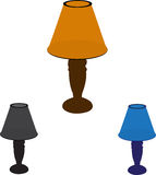 Table Lamps Royalty Free Stock Images