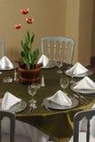 Table élégante Image libre de droits