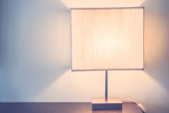 Table light lamp Royalty Free Stock Image