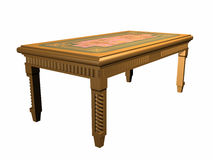 A table is little. Royalty Free Stock Image
