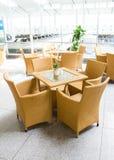 Table living furniture set Royalty Free Stock Image