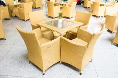 Table living furniture set Royalty Free Stock Photo