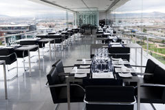 Table in luxury restaurant Royalty Free Stock Images