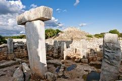 Table mégalithique de Torralba Photos stock