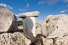 Table mégalithique de Torralba Photos libres de droits