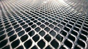 Metallic web. A table of metallic web Stock Images