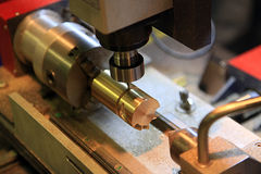 Table milling machine Stock Images
