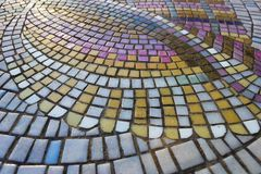 Table Mosaic Stock Photography
