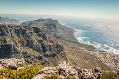 Table Mount in Cape town Stock Photo