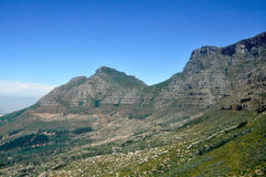Table Mountain. Cape town, South Africa Royalty Free Stock Images