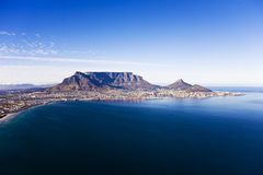 Table Mountain Aerial Royalty Free Stock Photo