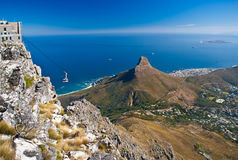 Free Table Mountain Cable Car Royalty Free Stock Photography - 24747717
