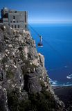 Table Mountain Cable Car Royalty Free Stock Images