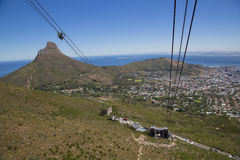 Table Mountain cable car. View Stock Images
