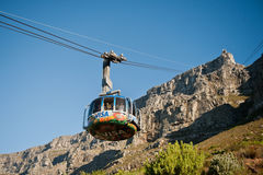 Table Mountain Cable way South Africa Stock Images