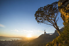 Table Mountain Cableway South Africa Royalty Free Stock Image