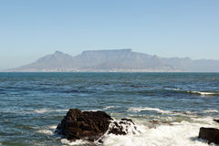 Table Mountain in Cape Town Stock Photos
