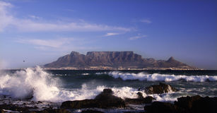 Table mountain cape town sa stock images