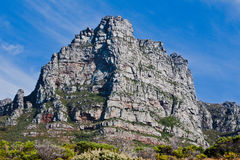 Table Mountain in Cape Town South Africa Royalty Free Stock Photography
