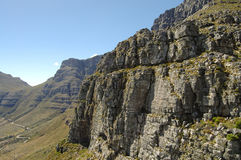 Table Mountain - Cape Town - South Africa Royalty Free Stock Photos
