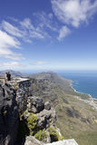 Table Mountain, Cape Town Royalty Free Stock Photo