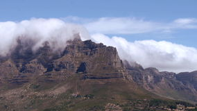 Table mountain, cape town stock video