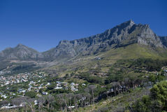 Table mountain,cape town Royalty Free Stock Photography