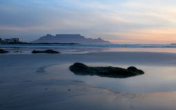 Table Mountain capetown Stock Photography