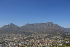 Table Mountain on a clear day Stock Image