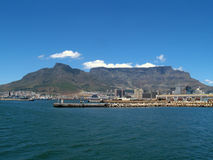 Table Mountain From Table BAy Stock Photo