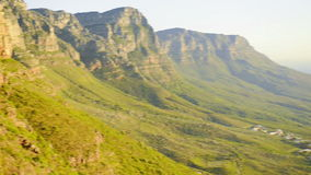 Table mountain stock video footage