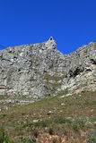 Table Mountain near Cape Town in South Africa Stock Images