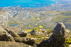 Table Mountain overlook Royalty Free Stock Photos