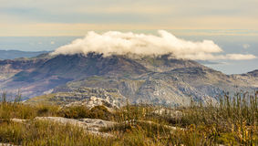 Table Mountain Scenery Royalty Free Stock Photography
