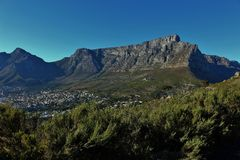 Table Mountain Royalty Free Stock Photos