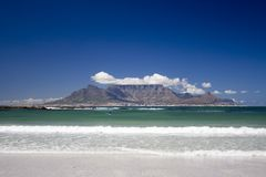 Table mountain summer Royalty Free Stock Photos