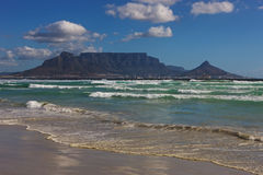 Table Mountain View. South Africa, Cape Town, Table Mountain view Royalty Free Stock Images