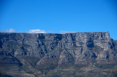 Table Mountain View, CapeTown South Africa. View of Table Mountain, Capetown South Africa from Boat on the way to Robben Island Stock Photo