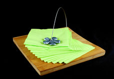 Table napkin holder Royalty Free Stock Photo