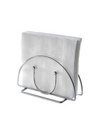 Table Napkin Holder Stock Photo