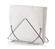 Table napkin holder with napkin Royalty Free Stock Photography