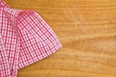 Table napkin Stock Image