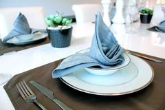 Table napkin Stock Photography
