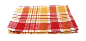 Table napkin or tablecloth vintage Stock Photos