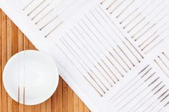 Table with needles for acupuncture. Silver needles for traditional acupuncture medicine on table. Table with needles for acupuncture. Silver needles for Royalty Free Stock Photography