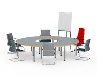 Table for negotiations Stock Images